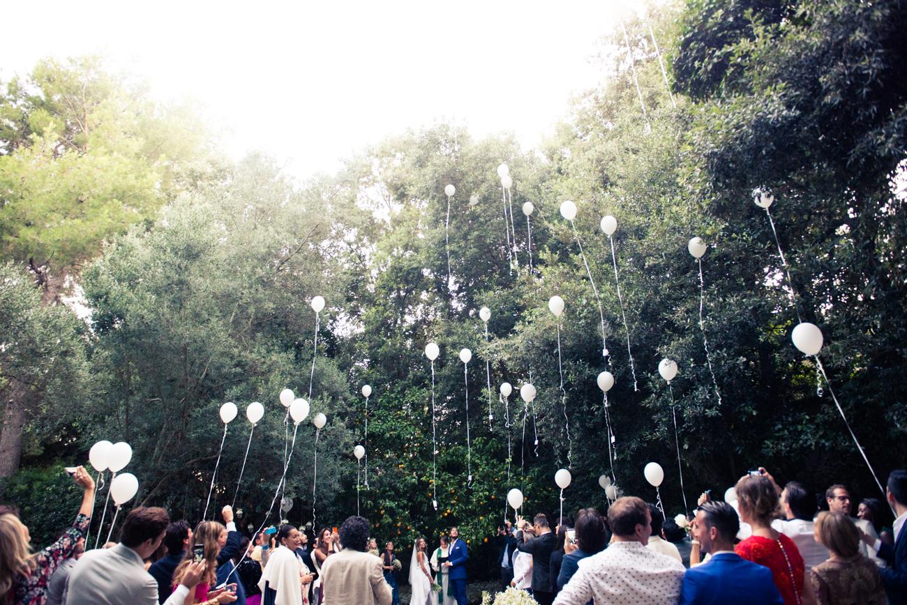 Balloons - Wedding invitation ettiquite