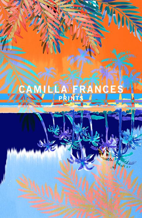 Camilla Frances retro future invitation idea