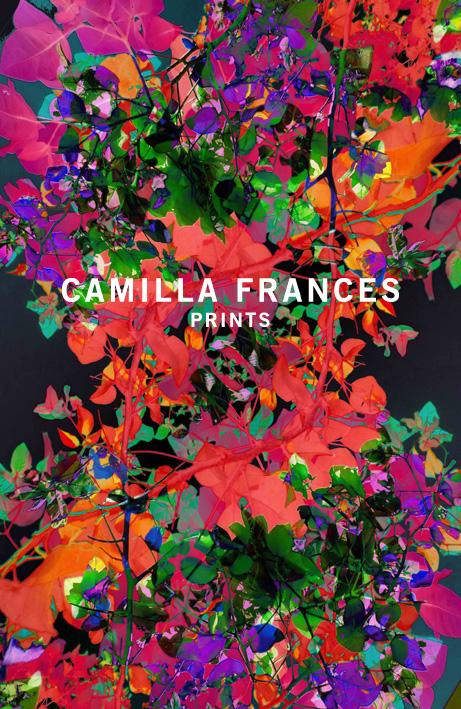 Camilla Frances red & purple wedding invitation