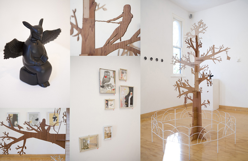 """Artist Crush: Beci Orpin, Solo exhibition """"In the Shadows"""", Monster Children Gallery June 2007"""