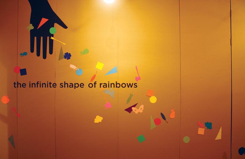 "Artist Crush: Beci Orpin, ""The Infinite Shape of Rainbows"", Lamington Drive April 2010"
