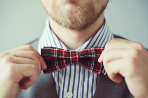 Wedding dress code bow tie