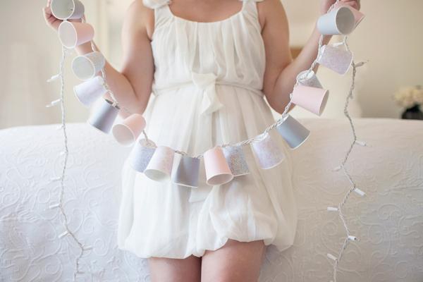 wedding decor light cup