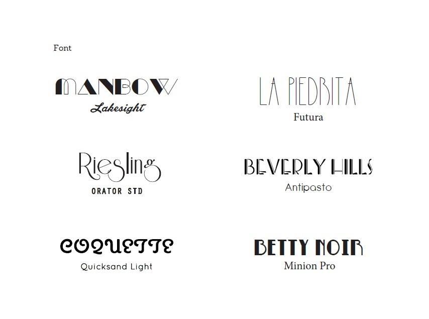 Wedding Invitations fonts 3