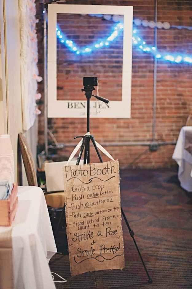 DIY Photobooth set up