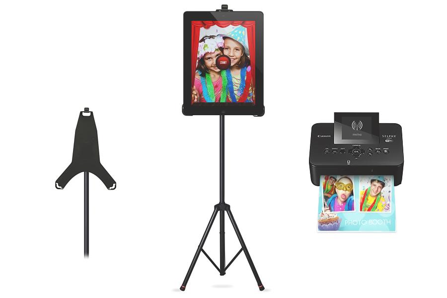 DIY Photobooth wedding set up