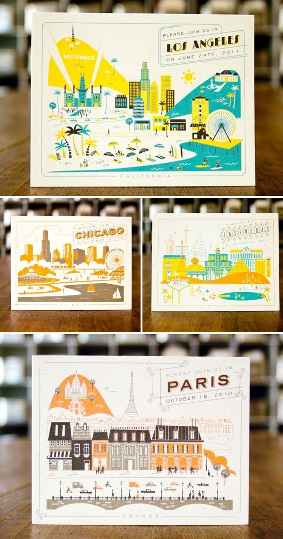 Retro European Postcards
