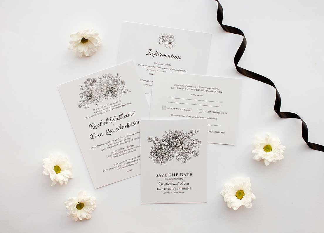 Your wedding stationery checklist – Decide what you include - Paperlust