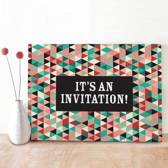 Playful Pics Birthday Invitation