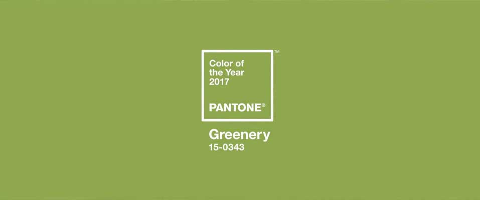 Pantone's Colour of the Year 2017