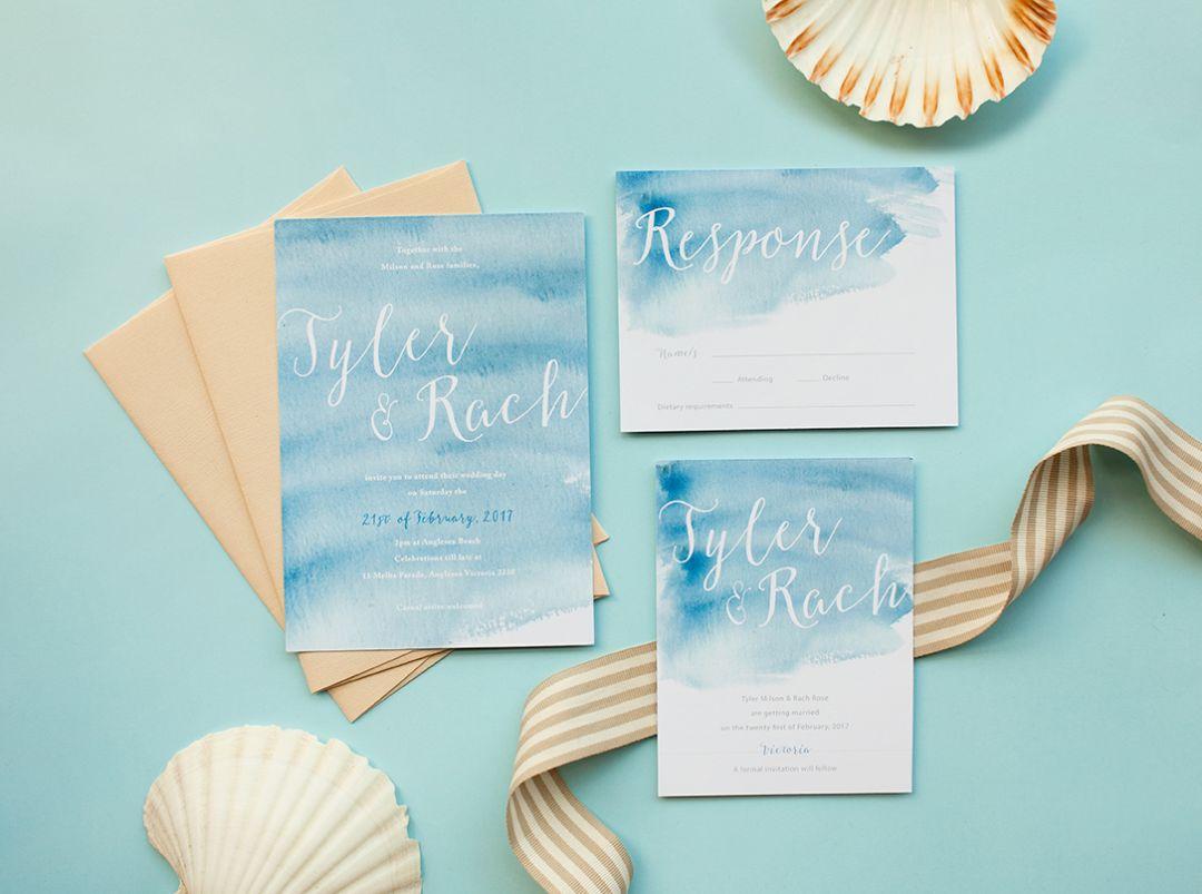 Choosing Destination Wedding Invitations