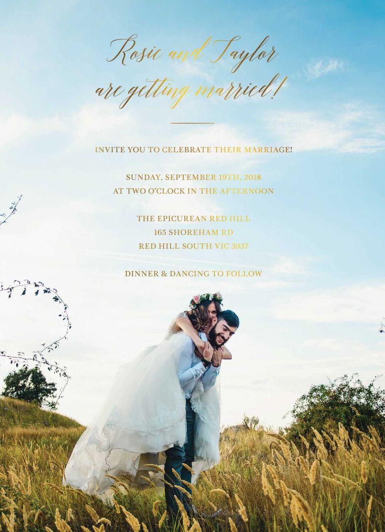 Disney Wedding Invitations- General Disney motifs