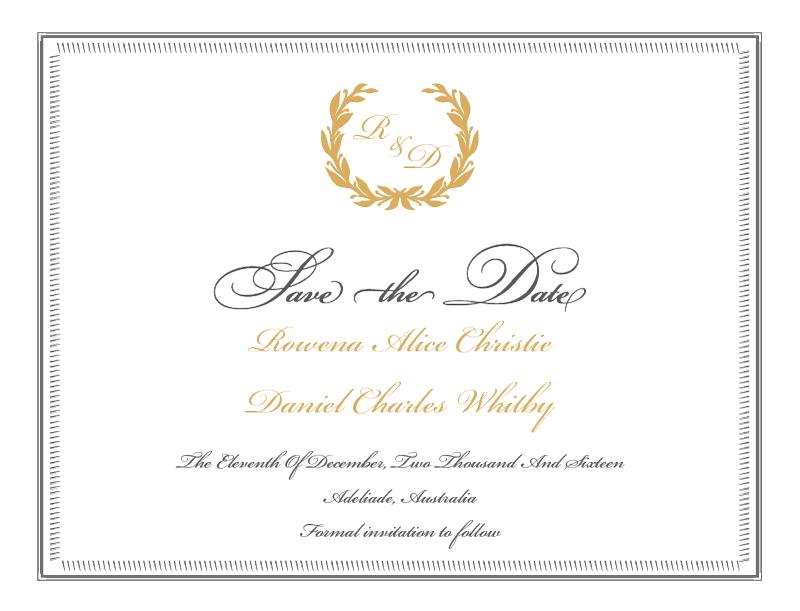 Pop Culture Wedding Invitations