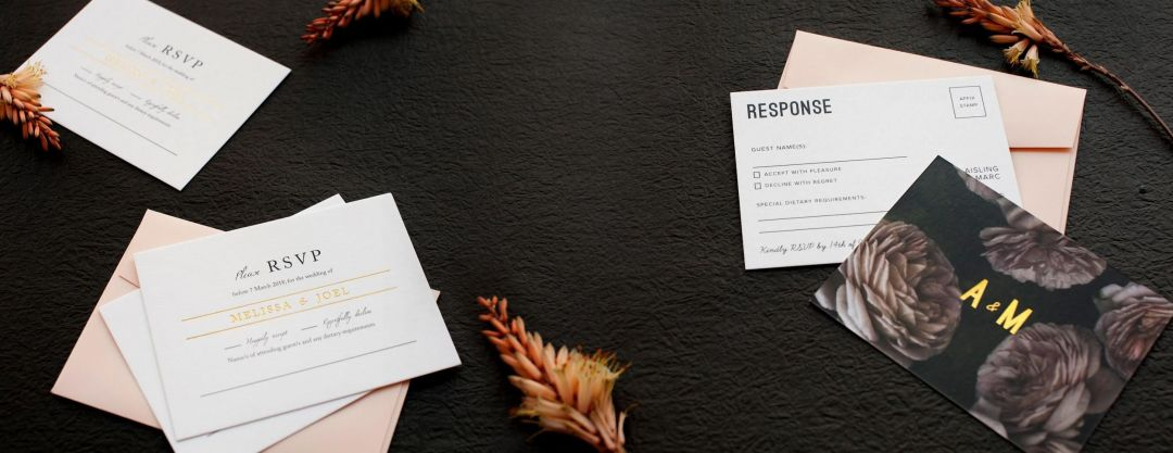 Accepting Or Declining A Wedding Invitation Paperlust