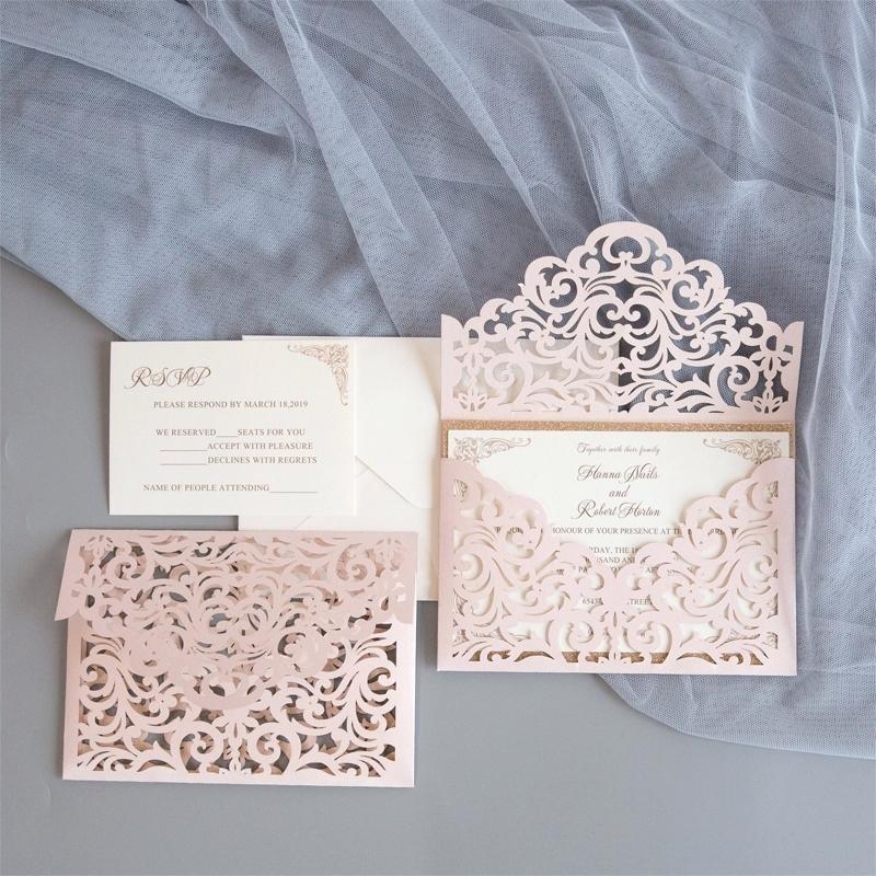 Laser Cut Wedding Invitation Trends