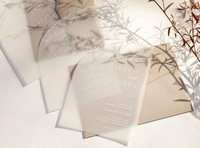 The not so eco-friendly truth of Acrylic Wedding Invitations