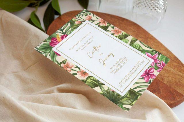 Getting Creative with Blank Wedding Invitations
